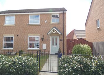 Thumbnail 3 bed semi-detached house for sale in Kingfisher Drive, Easington Lane, Houghton Le Spring