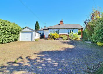 Thumbnail 4 bed detached bungalow for sale in Melton Road, Rearsby, Leicestershire
