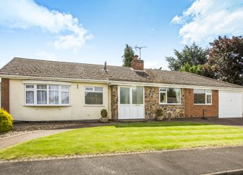 Thumbnail 2 bed detached bungalow for sale in Walnut Close, Oadby, Leicester
