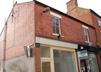 Thumbnail 1 bed flat to rent in First Floor Flat, 3B Westgate, Sleaford