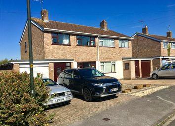 Thumbnail 3 bed semi-detached house for sale in Elmvil Road, Newtown, Tewkesbury, Gloucestershire