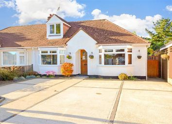 Thumbnail 3 bed semi-detached bungalow for sale in Parklands Road, Chichester, West Sussex