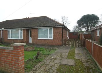 Thumbnail 2 bed bungalow for sale in Gorse Road, Thorpe St. Andrew, Norwich