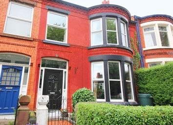 Thumbnail 4 bedroom terraced house for sale in Heathfield Road, Wavertree, Liverpool