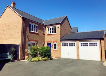 Thumbnail 4 bed detached house for sale in Stryd Yr Alarch, Ruthin, Denbighshire, North Wales