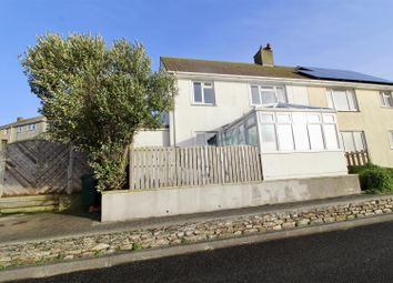 Thumbnail 4 bed semi-detached house for sale in Ocean Crescent, Porthleven, Helston