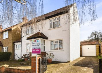 Thumbnail 3 bedroom detached house for sale in The Kingsway, Ewell, Epsom