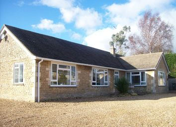 Thumbnail 5 bed detached bungalow to rent in Fotheringhay Road, Nassington, Peterborough