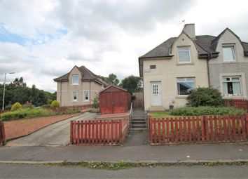 Thumbnail 2 bed semi-detached house for sale in Central Avenue, Holytown, Motherwell