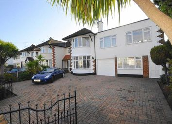 Thumbnail 5 bedroom semi-detached house for sale in Woodgrange Drive, Thorpe Bay, Essex