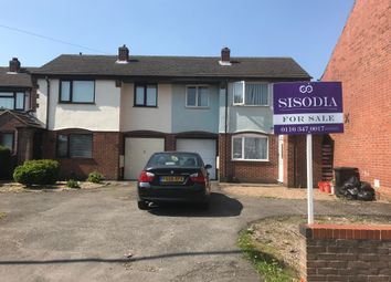 Thumbnail 3 bed town house for sale in Whitehill Road, Leicester