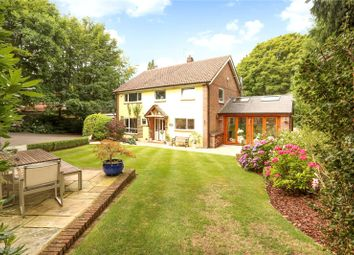 Thumbnail 4 bed detached house for sale in Plantation Road, Hill Brow, Liss, Hampshire