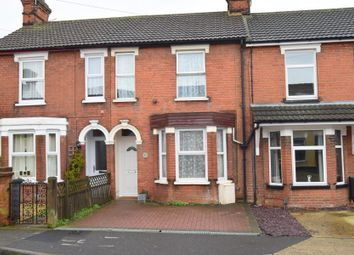 Thumbnail 3 bedroom terraced house for sale in Richmond Road, Ipswich