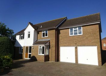 Thumbnail 5 bed detached house for sale in Clovelly Close, Ipswich, Suffolk