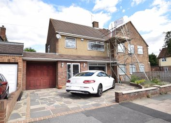 Thumbnail 3 bed semi-detached house for sale in Rochford Avenue, Chadwell Heath, Romford
