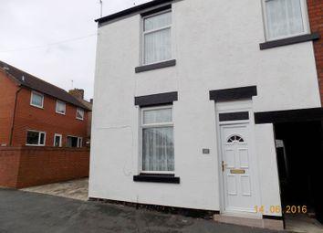 Thumbnail 3 bedroom end terrace house to rent in Fylde Street, Kirkham, Preston