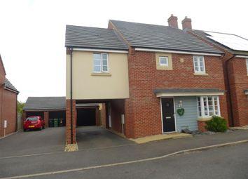 Thumbnail 4 bed detached house for sale in Cornflower Avenue, Hampton Vale, Peterborough