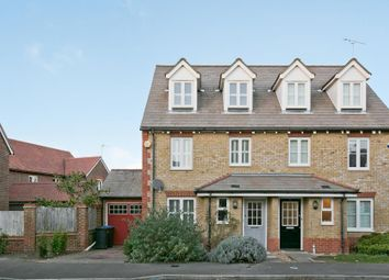 Thumbnail 4 bed semi-detached house for sale in Curf Way, Burgess Hill