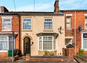 Thumbnail 3 bed terraced house for sale in Queen Street, Church Gresley, Swadlincote