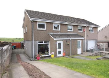 Thumbnail 2 bed semi-detached house for sale in Currieside Avenue, Shotts