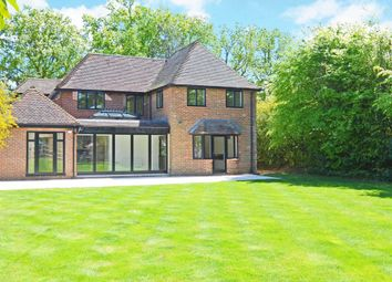 Thumbnail 5 bed detached house to rent in Forest Road, East Horsley