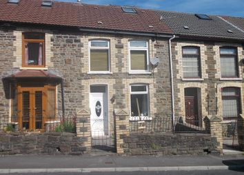 Thumbnail 2 bed terraced house for sale in Park Road, Cwmparc, Treorchy, Rhondda Cynon Taff.