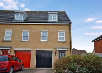 Thumbnail 4 bedroom end terrace house for sale in Windsor Park Gardens, Sprowston, Norwich, Norfolk