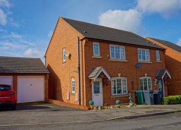 Thumbnail 3 bed semi-detached house for sale in Knowles View, Swadlincote