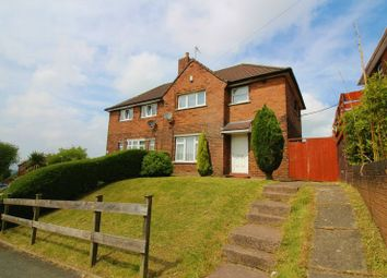 Thumbnail 3 bed semi-detached house for sale in William Road, Kidsgrove, Stoke-On-Trent