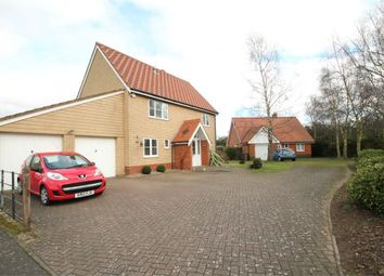 Thumbnail 4 bedroom detached house for sale in Sandling Crescent, Rushmere St Andrew, Ipswich, Suffolk