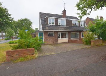 Thumbnail 3 bed semi-detached house for sale in Cottingham Grove, Bletchley, Milton Keynes