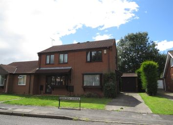 Thumbnail 2 bed semi-detached house for sale in Fernleigh Avenue, Bracebridge Heath, Lincoln