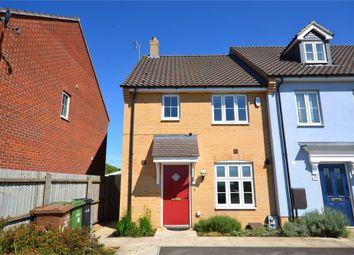 Thumbnail 3 bed end terrace house for sale in Poppyfields, West Lynn, King's Lynn