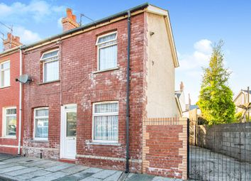 Thumbnail 2 bedroom end terrace house for sale in Weston Street, Barry