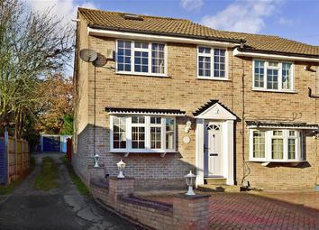 Thumbnail 4 bed end terrace house for sale in Copthorne Avenue, Ilford, Essex