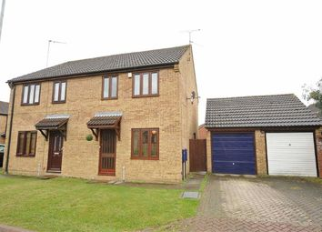 Thumbnail 3 bed semi-detached house for sale in Severn Close, Wellingborough