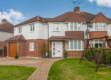 Thumbnail 4 bed semi-detached house for sale in Cobham, Surrey