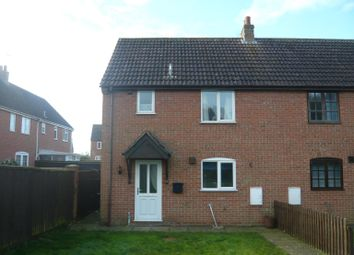 Thumbnail 2 bedroom end terrace house to rent in Crown Gardens, Wereham, King's Lynn
