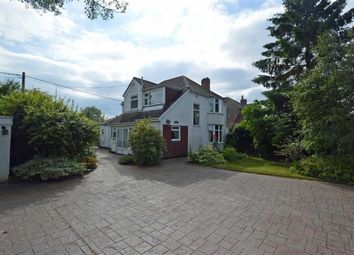 Thumbnail 4 bed detached house for sale in Uppingham Road, Houghton-On-The-Hill, Leicester