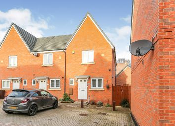 Thumbnail 2 bed end terrace house for sale in The Stables Mews, Marston Green, Birmingham