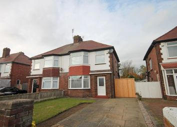 Thumbnail 3 bed semi-detached house for sale in Leybourne Avenue, Southport