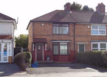 Thumbnail 3 bed end terrace house for sale in Heybarnes Road, Small Heath, Birmingham