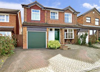 Thumbnail 4 bed detached house for sale in Fairview Close, Tonbridge, Kent