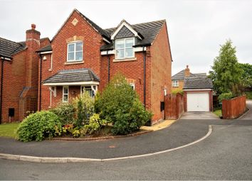 Thumbnail 4 bed detached house for sale in St. Giles Park, Wrexham