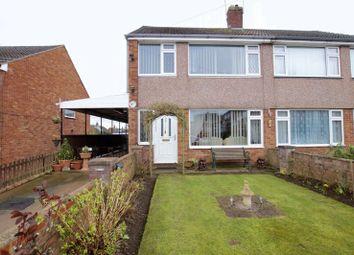 Thumbnail 3 bed semi-detached house for sale in Cedar Drive, Summerhill, Wrexham