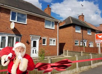 Thumbnail 3 bed town house for sale in Third Avenue, Edwinstowe, Mansfield