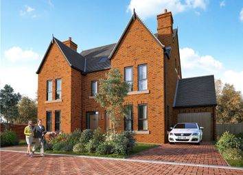 Thumbnail 4 bedroom semi-detached house for sale in Station Road, Delamere, Northwich