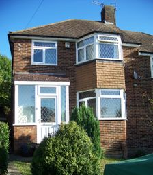 Thumbnail 3 bed semi-detached house for sale in Longmead Drive, Sidcup