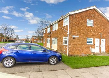 Thumbnail 1 bedroom flat for sale in Essex Close, Ashington