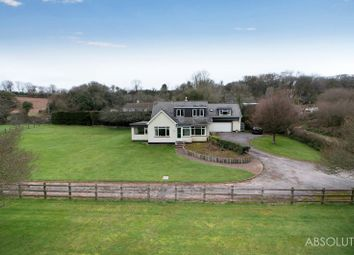 Thumbnail 5 bedroom equestrian property for sale in Kiln Road, Marldon, Paignton